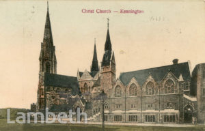 CHRIST CHURCH, WESTMINSTER BRIDGE ROAD, LAMBETH