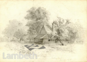 COTTAGE,  TOOTING BEC COMMON