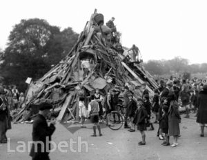 JUBILEE CELEBRATIONS,  TOOTING BEC COMMON