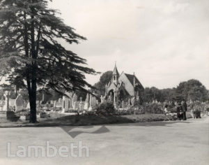 LAMBETH CEMETERY, BLACKSHAW ROAD, TOOTING