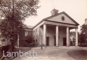 ST MARY'S CHURCH, BALHAM HIGH ROAD, BALHAM