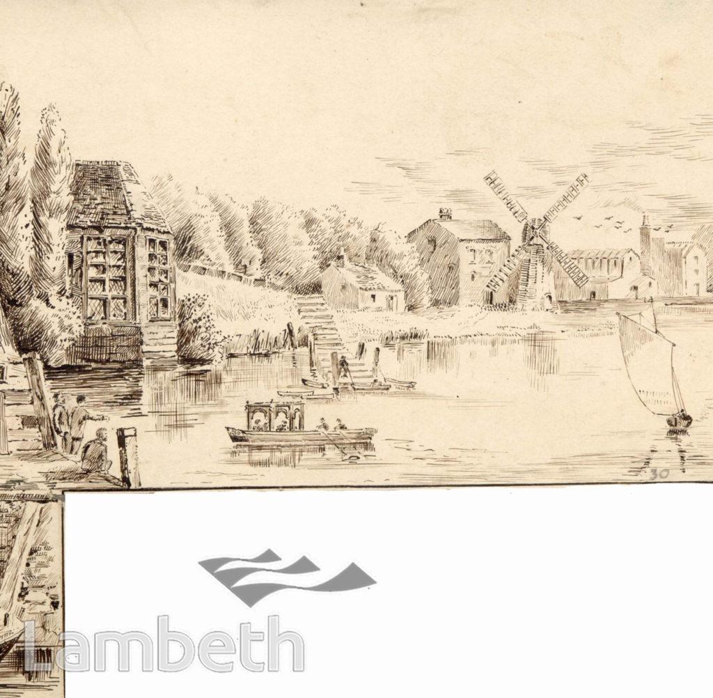 CUMBERLAND GARDENS, VAUXHALL