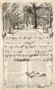 SONGSHEET, VAUXHALL GARDENS