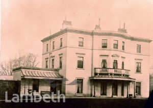 LINCOLN HOUSE, CLARENCE AVENUE, CLAPHAM PARK