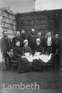 LINCOLN HOUSE, CLARENCE AVENUE, CLAPHAM PARK : SERVANTS