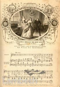 VAUXHALL GARDENS: SONGS