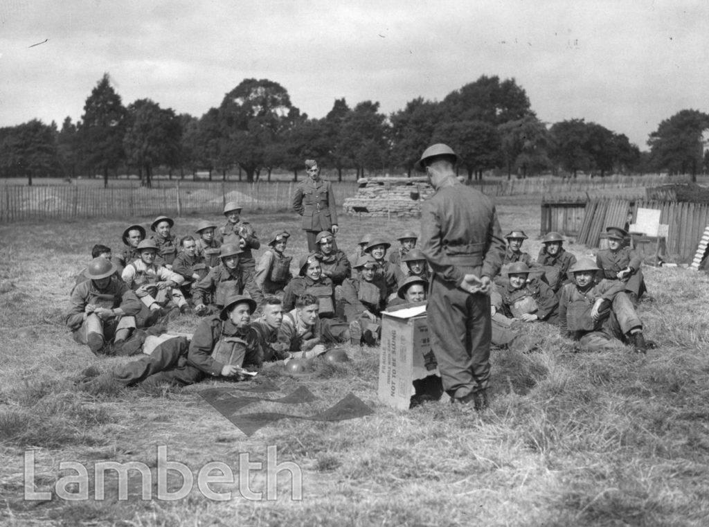 CLAPHAM COMMON, CLAPHAM: WORLD WAR II