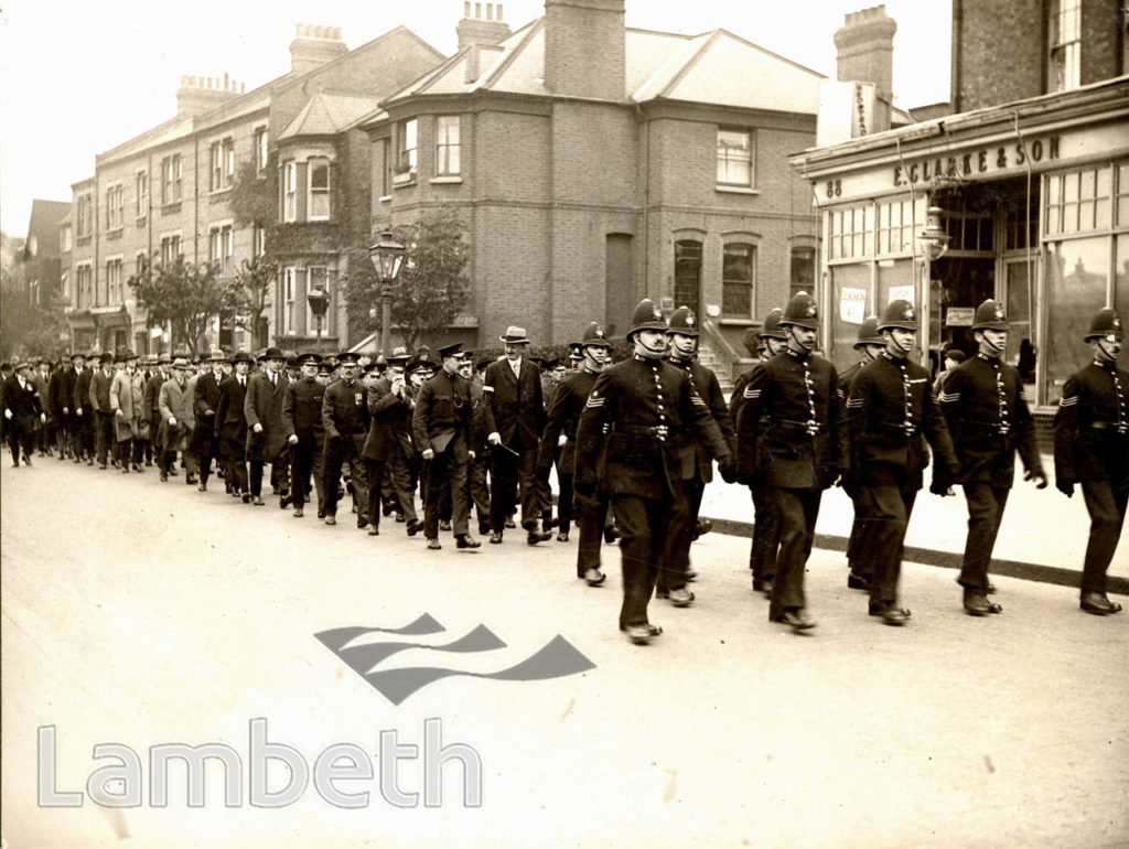 KNIGHTS HILL, WEST NORWOOD : POLICE PARADE