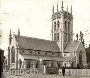 ST SAVIOUR'S CHURCH, CEDARS ROAD, CLAPHAM