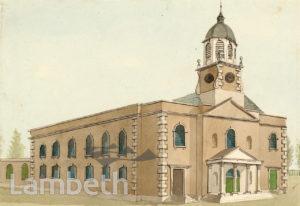 HOLY TRINITY CHURCH, CLAPHAM COMMON, CLAPHAM