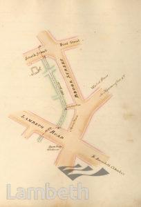 LAMBETH PARISH BOUNDARY, LAMBETH TO KENNINGTON