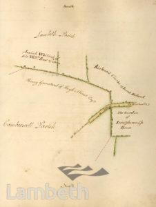 LAMBETH PARISH BOUNDARY, LOUGHBOROUGH JUNCTION
