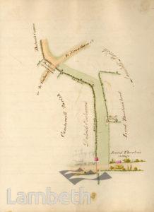 LAMBETH PARISH BOUNDARY, WEST DULWICH