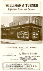 WILLIMAN & TURNER, WEST NORWOOD : ADVERTISEMENT