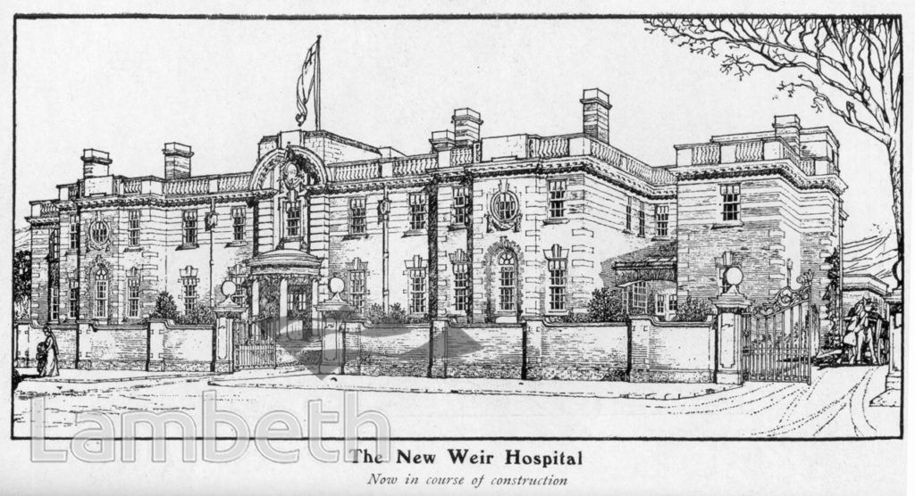THE WEIR HOSPITAL, WEIR ROAD, BALHAM