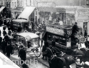 NORWOOD ROAD, WEST NORWOOD : FUNERAL PROCESSION