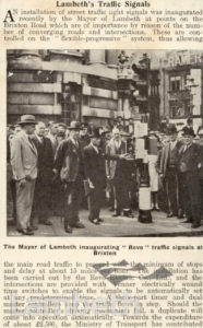 LAMBETH TRAFFIC SIGNALS, BRIXTON ROAD, BRIXTON CENTRAL