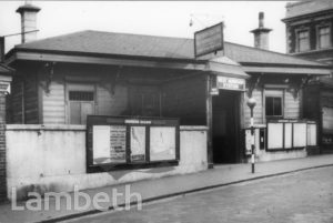 WEST NORWOOD RAILWAY STATION, KNIGHT'S HILL