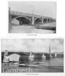 VAUXHALL BRIDGE, VAUXHALL