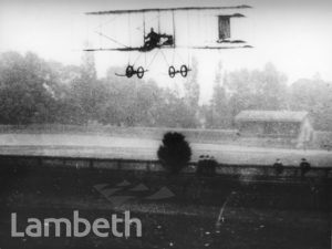 WRIGHT BROTHER FLYING, CRYSTAL PALACE, UPPER NORWOOD