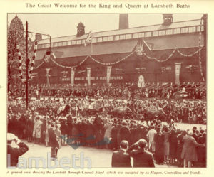 SILVER JUBILEE CELEBRATIONS : LAMBETH SOUVENIR