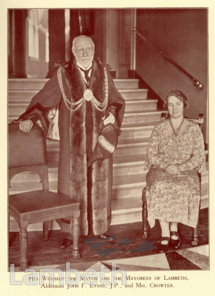 SILVER JUBILEE CELEBRATIONS : LAMBETH SOUVENIR