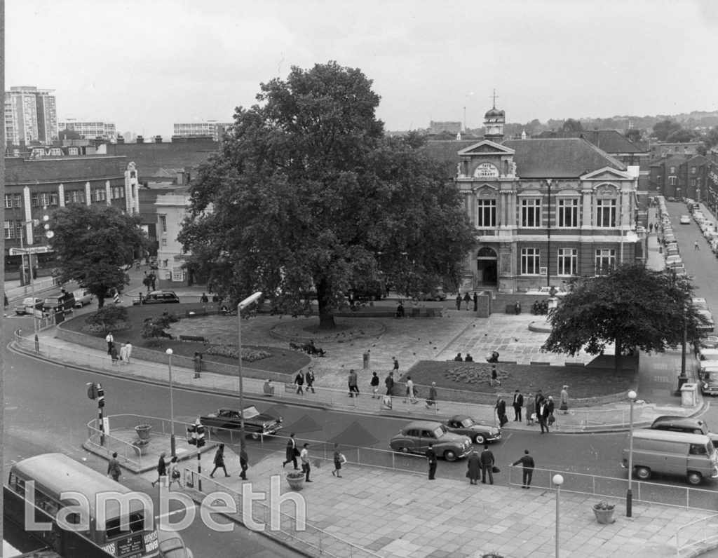 TATE LIBRARY, BRIXTON OVAL, CENTRAL BRIXTON
