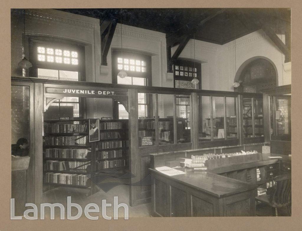TATE LIBRARY, SOUTH LAMBETH ROAD, SOUTH LAMBETH