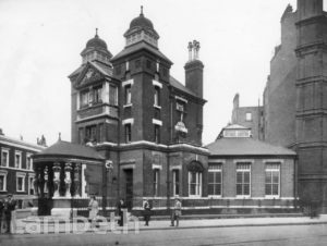 TATE LIBRARY, SOUTH LAMBETH ROAD, SOUTH LAMBETH