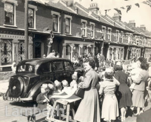 STREET PARTY, LAMBETH : CORONATION CELEBRATIONS