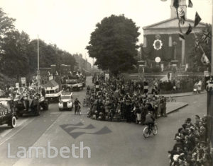 NORWOOD HIGH STREET, WEST NORWOOD : CORONATION CELEBRATIONS