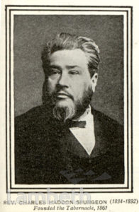 REV. CHARLES HADDON SPURGEON