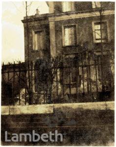 BOMB DAMAGED HOUSE, BRIXTON CENTRAL