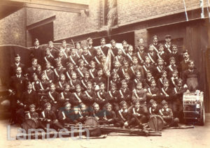 BOYS' BRIGADE, MOFFAT INSTITUTE, VAUXHALL