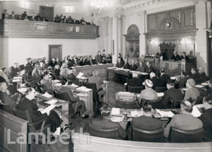 COUNCIL MEETING, LAMBETH TOWN HALL, BRIXTON CENTRAL