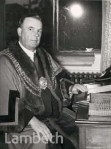 W.H.A.PORTER, MAYOR, LAMBETH