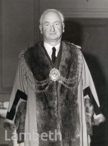 ALDERMAN H.W.WALLACE, MAYOR OF LAMBETH