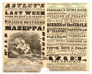 ASTLEY'S ROYAL AMPHITHEATRE, LAMBETH : HANDBILL