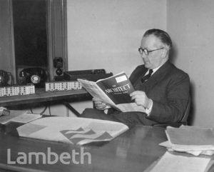 C.C.CARTER, DIRECTOR OF HOUSING, LAMBETH