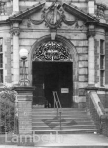 CARNEGIE LIBRARY,  HERNE HILL