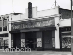 STAR BINGO CLUB, BALHAM HIGH ROAD, BALHAM