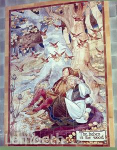DOULTON TILES: ST. THOMAS'  HOSPITAL