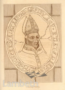 ARCHBISHOP CHICHELEY, LAMBETH PALACE