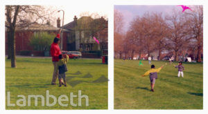 KITE FLYING DAY ON STREATHAM COMMON