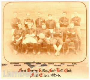 FIRST SURREY RIFLES : FOOTBALL CLUB