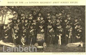 FIRST SURREY RIFLES : 21ST LONDON REGIMENT BAND