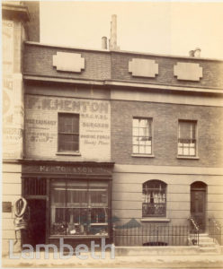 HENTON & SON, VINE STREET, WATERLOO