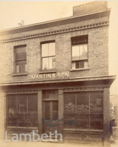 MARTIN & SON, VINE STREET, WATERLOO
