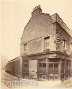 CROWN TAVERN, BELVEDERE CRESCENT, WATERLOO