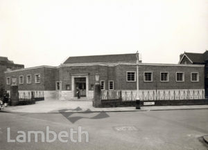 MINET LIBRARY, KNATCHBULL ROAD, NORTH BRIXTON